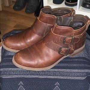 Timberland buckle booties